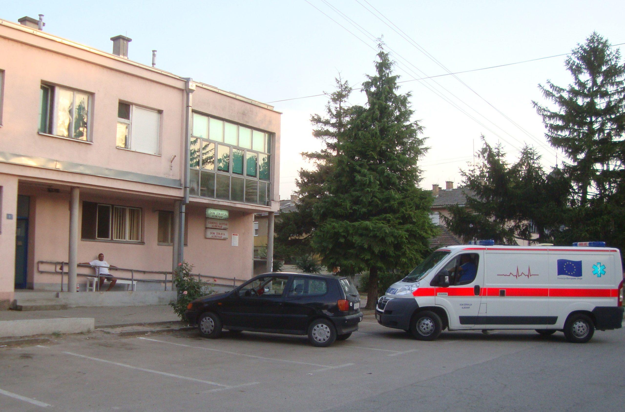 Comuna Alibunar, S-au finalizat lucrările la sala de educaţie fizică