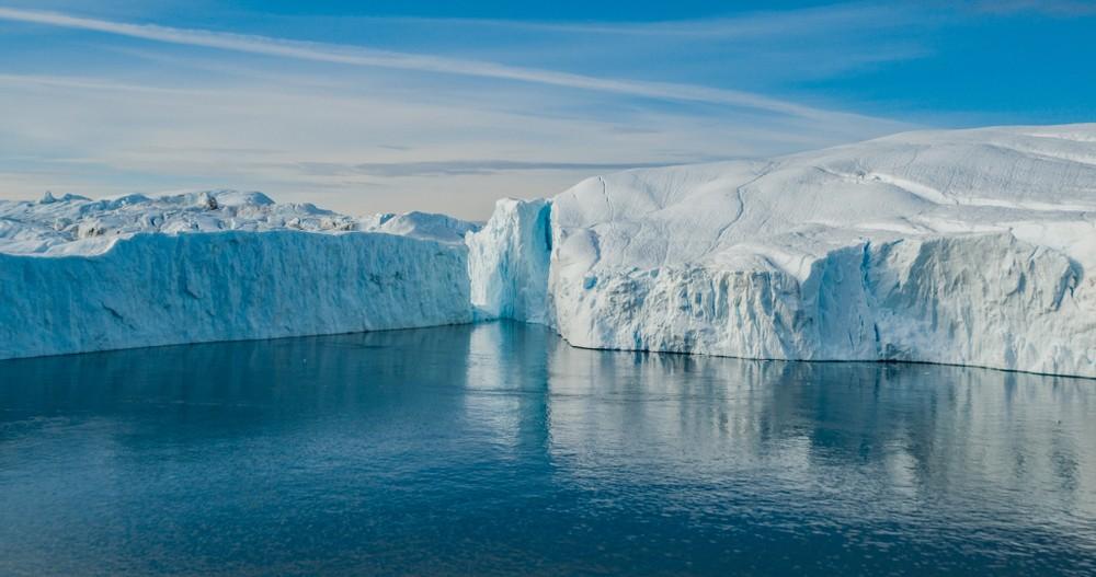 Stratul de gheață din Groenlanda, cel mai mic decât din 1948