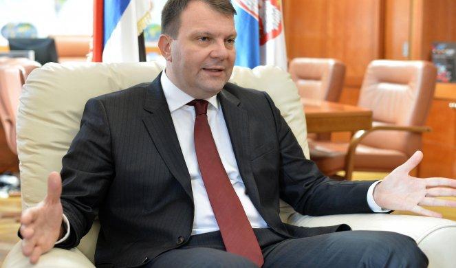 IGOR MIROVIĆ, PREȘEDINTELE GUVERNULUI PROVINCIAL