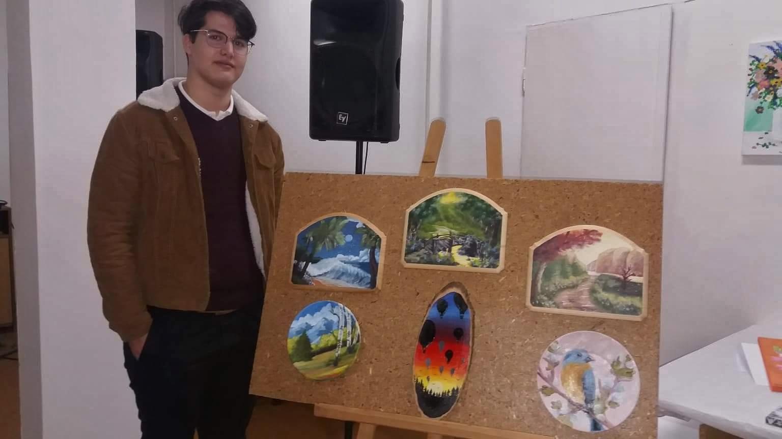 BENIAMIN ARDELEAN DIN SÂN-MIHAI:  Pasionat de artele plastice