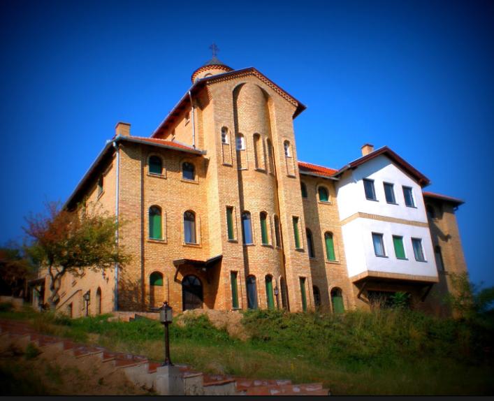 Mănăstirea din Srediştea Mică – un mic colț de rai