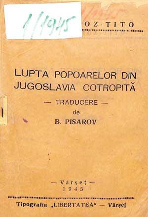 Lupta popoarelor din Jugoslavia cotropită