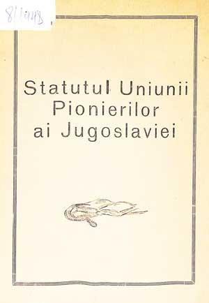 Statutul Uniunii Pionierilor ai Jugoslaviei