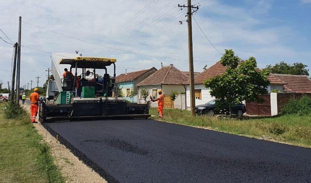 LA BISERICA ALBĂ – Investiții în infrastructura rutieră