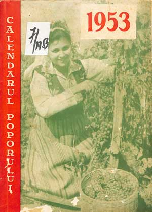 Calendarul poporului 1953