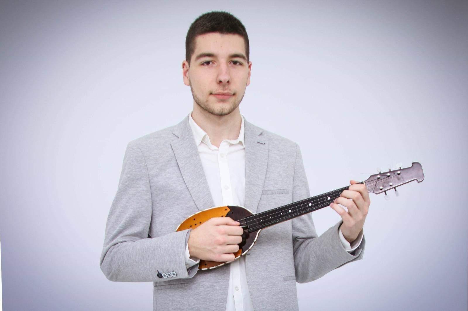 Damir Pranjković din Alibunar, tânăr muzician cu visuri împlinite
