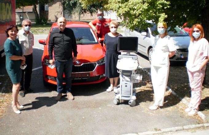 Știri, Alibunar donație de echipament medical, Nicolinț, acțiune de tratare a insectelor dăunătoare