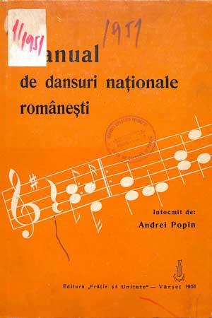 Manual de dansuri naţionale româneşti