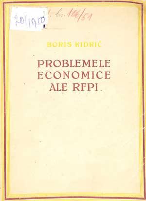 Problemele economice ale RFPI