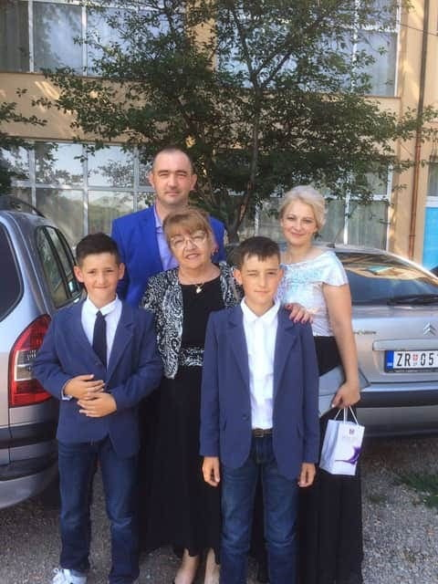 FAMILIA MATIĆ DIN SĂRCIA