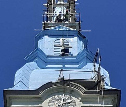 Reconstruirea Bisericii din Petrovasâla