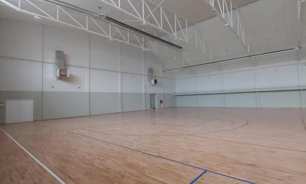 Din activitatea autoguvernării locale   S-au finalizat lucrările la sala sportivă din Alibunar