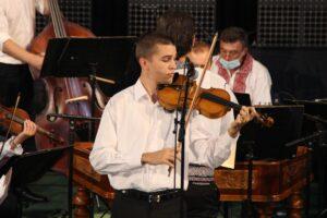 Victor Radu, Ecica (vioară)