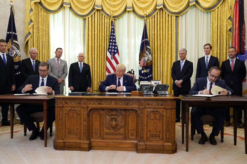Delegațiile Belgradului și Prištinei – la Casa Albă