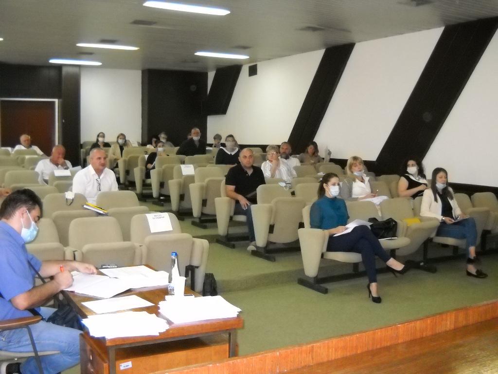Şedința a doua a Adunării comunei Alibunar,  S-au constituit consiliile administrative