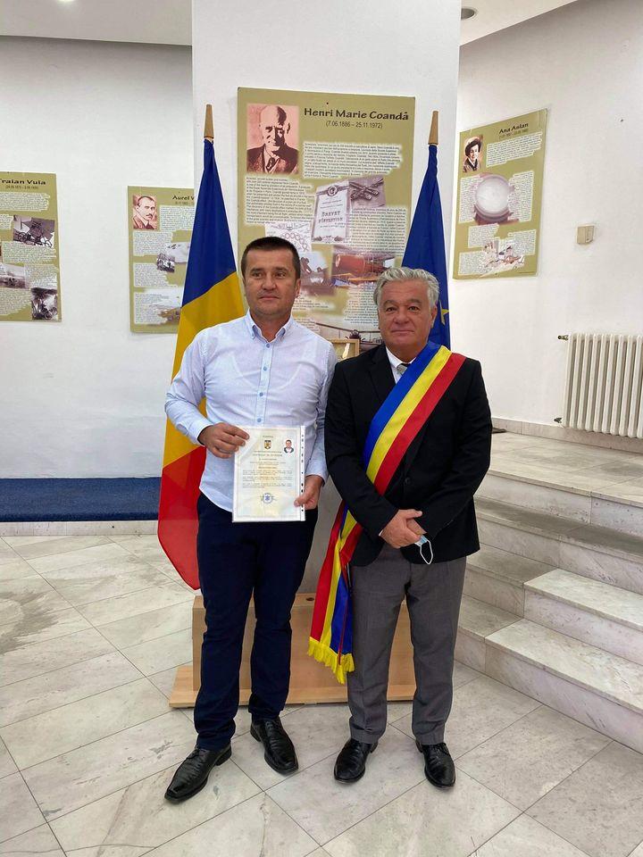 Aurel Stanciu din Sân-Mihai a obținut Cetățenia României  Acum mă simt cu adevărat român!