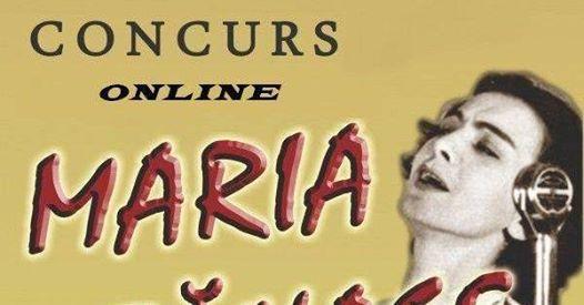 Concurs online dedicat îndrăgitei interprete Maria Tănase