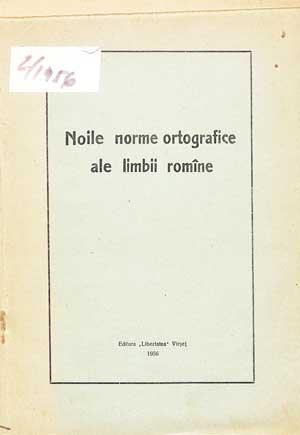 Noile norme ortografice ale limbii române
