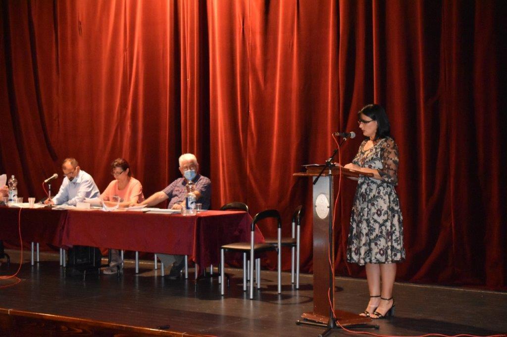 Ședința de constituire a Adunării Comunei Cuvin