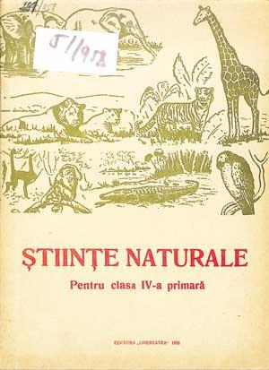 Științe naturale IV