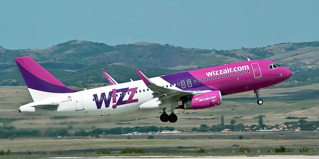 """COMPANIA AERIANĂ LOW-COST """"WIZZ AIR"""" A ANUNȚAT:   Primul zbor de la Belgrad spre Larnaca – în 18 octombrie"""