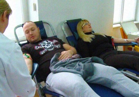 Acțiune de donare a sângelui