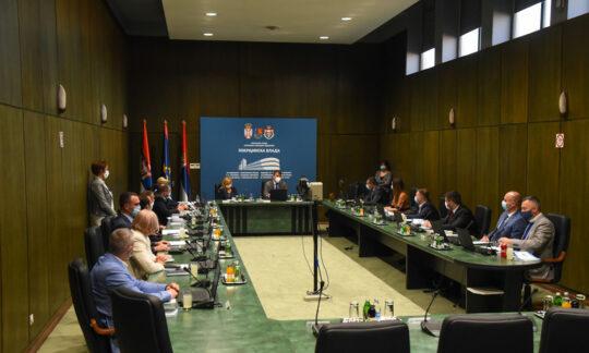 Prima ședință a Guvernului Provincial