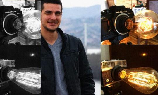 Adrian reîntoarce lumina camerelor de fotografiat vechi