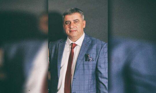 """Viorel Bălăgean, primarul Coșteiului și președintele S.C.A. """"MIHAI EMINESCU"""""""