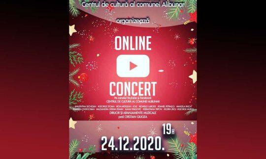 Concert online de muzică populară