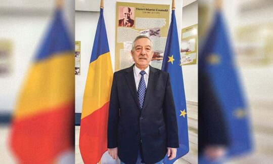 Excelența Sa Gheorghe Dinu, Consul General al României la Vârșeț