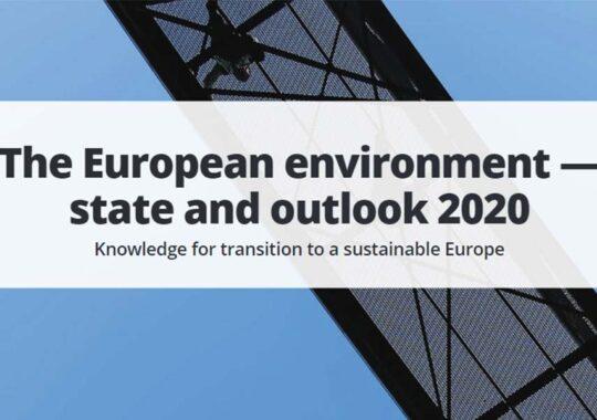 Starea mediului la nivel European, în 2020