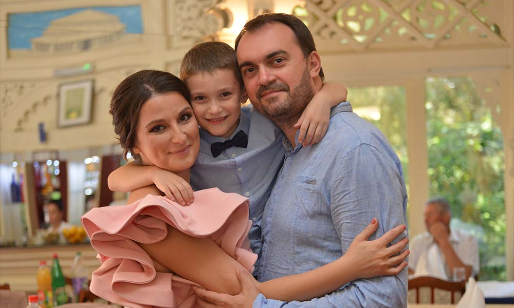 Familia Mitrović din Belgrad
