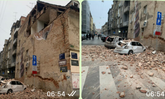 Cutremure de proporții au lovit Croația