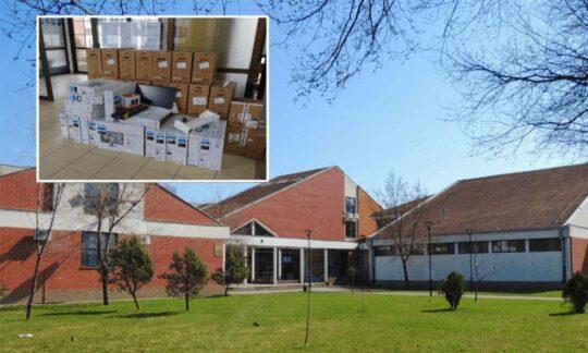 Școlile generale din Jitiște, Torac, Ravni Topolovac și Banatski Dvor au primit calculatoare