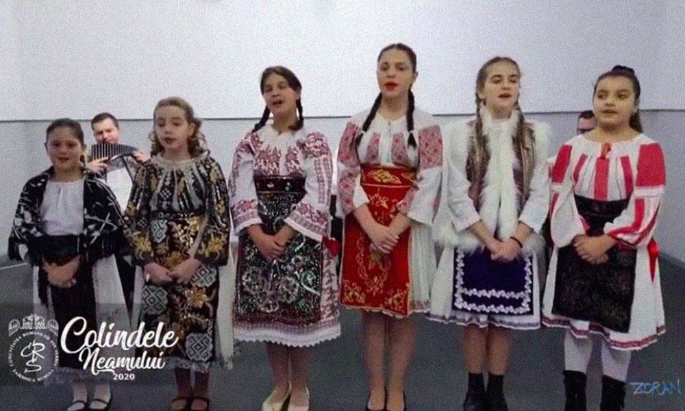 """Festivalul tradițional """"COLINDELE NEAMULUI 2020"""" organizat de C.R.S."""