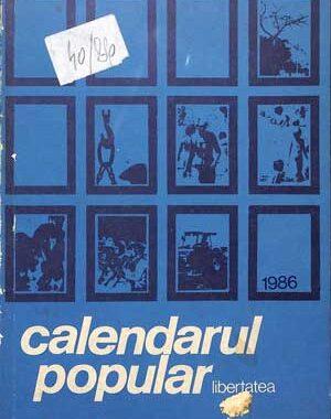 Calendarul Popular 1986