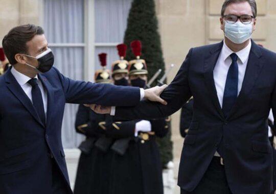 Vizita președintele Aleksandar Vučić în Franța