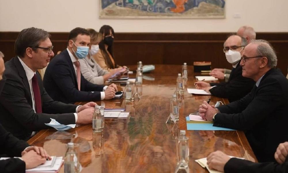 Președintele Guvernului Republicii Cehe a vizitat Serbia