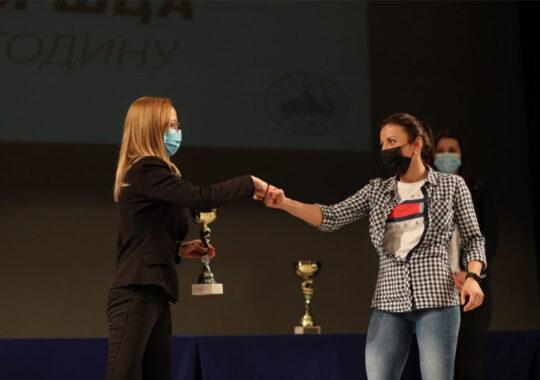 Sandra Maran a marcat anul 2020