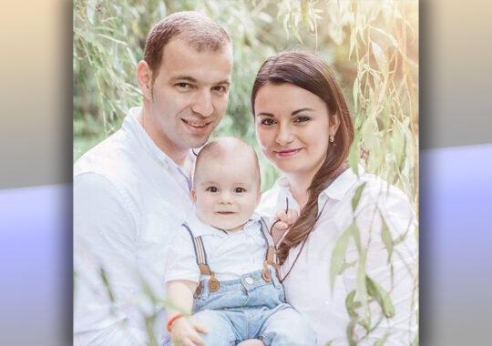 Familia Giurca din Uzdin, stabilită în Germania