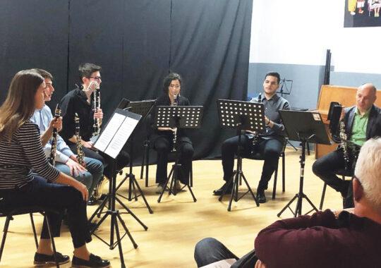 Clarinetiștii au încântat publicul