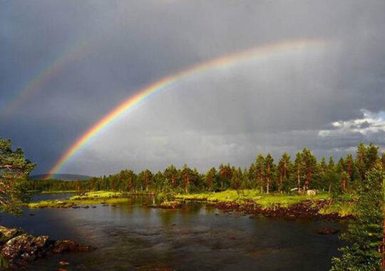Curcubeul – punte între cer și pământ