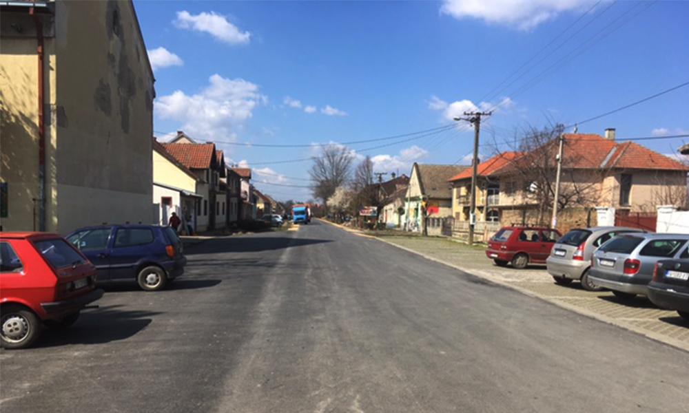 S-au încheiat lucrările de reabilitare a drumurilor