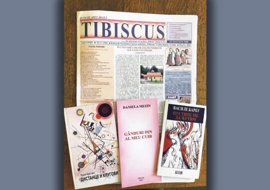 """Ziarul """"Tibiscus"""" la ceas aniversar și cărți"""
