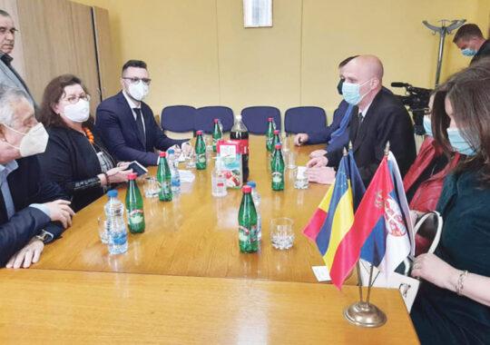 Prima vizită la Vârșeț a noului Ambasador al României, excelența sa Silvia Davidoiu