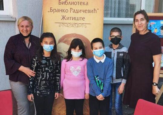 Ceremonia de închidere a celui de-al 24-lea concurs literar pentru copii