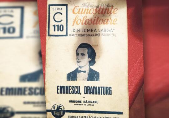 Eminescu – Geniul pustiu al literaturii române și marea sa iubire, teatrul
