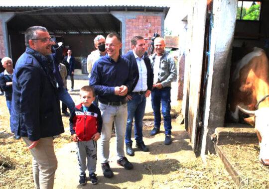 Ministrul agriculturii și Secretarul Provincial au vizitat Toracul