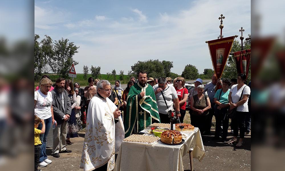 Cele două biserici surori au marcat sărbătoarea Înălțarea Domnului